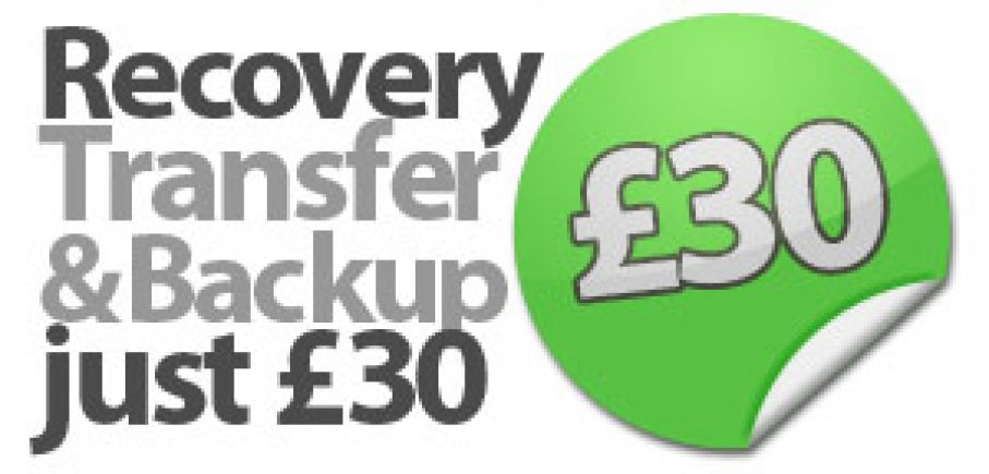 Data Recovery, Transfer & Backup